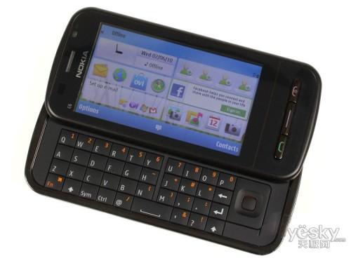 图为:诺基亚C6-00 手机